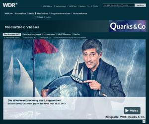 Quarks & Co: Allein gegen den Wind
