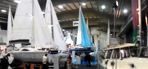 Panorama der Segelboote
