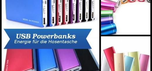 USB Powerbanks