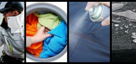 Ölzeug waschen und imprägnieren